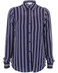 MICHAEL Michael Kors Striped Shirt - Blue