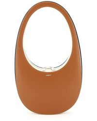 Coperni Multicolour Leather Swipe Bag - Brown