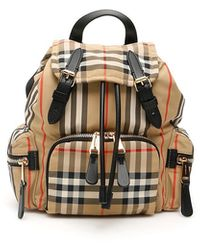 Burberry Vintage Check Rucksack - Multicolour