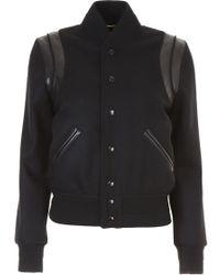 Saint Laurent Teddy Jacket - Black