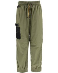Fendi JOGGING Pants With Mesh Pocket - Green