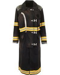 CALVIN KLEIN 205W39NYC Fireman Coat - Black