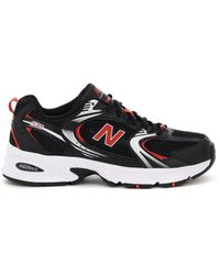 New Balance Lifestyle 530 Sneakers 7,5 Technical,faux Leather - Black