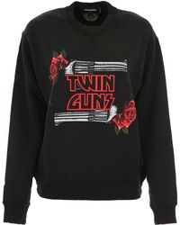 DSquared² - Twin Guns Sweatshirt - Lyst