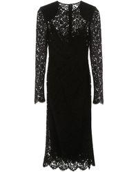 Dolce & Gabbana - Lace Dress - Lyst