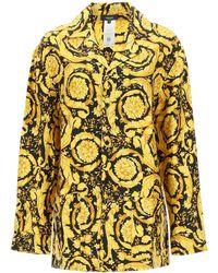 Versace Pajama Shirt 2 Silk - Yellow