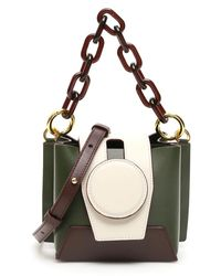 Yuzefi Daria Mini Bucket Bag - Green