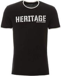Dolce & Gabbana T-shirt con stampa - Nero