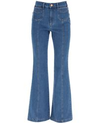 See By Chloé JEANS BOOTCUT EMILY - Blu