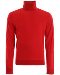 DSquared² Wool Turtleneck - Red