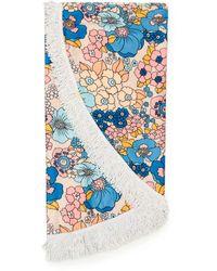Dodo Bar Or Round Beach Towel - Blue