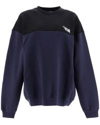 Vetements Sweatshirt With Logo Embroidery - Blue