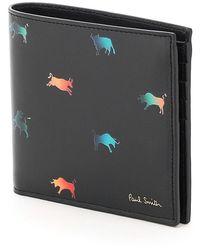 Paul Smith Lunar New Year Print Wallet - Black