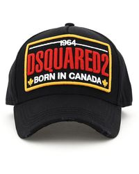 DSquared² - CAPPELLO BASEBALL PATCH LOGO - Lyst