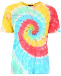 R13 Tie-dye T-shirt - Multicolor