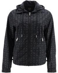 MCM Monogram Nylon Jacket 40 Technical - Black