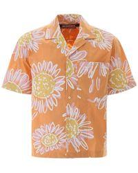 Jacquemus Bowling Shirt - Orange