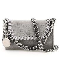 Stella McCartney Falabella Micro Shoulder Bag - Grey