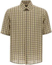Fendi All-over Logo Shirt - Multicolour