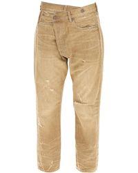 R13 Jeans Crossover 25 Denim - Brown