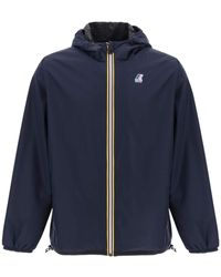 Fendi X K-way Reversible Windbreaker Jacket - Blue