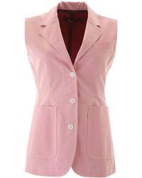 Sies Marjan Victoria Blazer 2 Cotton - Pink
