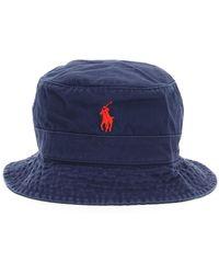 Polo Ralph Lauren Loft Bucket Hat - Blue