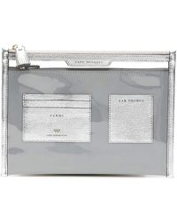 Anya Hindmarch Safe Deposit Pouch - Metallic