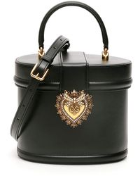 Dolce & Gabbana Oval Devotion Bag - Black