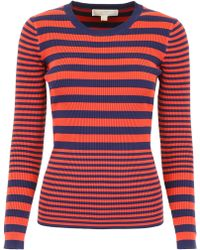 MICHAEL Michael Kors Striped Pull - Red