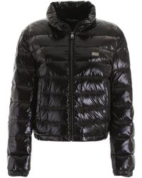 36eb08279 Shiny Puffer Jacket - Black