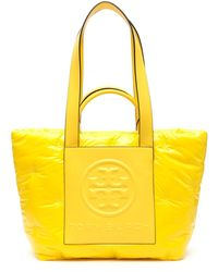 Tory Burch SHOPPING NYLON IMBOTTITO PERRY BOMBE' - Giallo