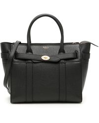 Mulberry Zipped Bayswater Small Bag - Black