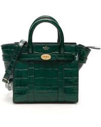 Mulberry Micro Zipped Bayswater - Green
