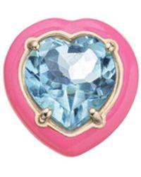 Bea Bongiasca Candy Heart Earring Os - Pink