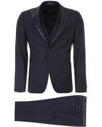 Tagliatore Three-piece Tuxedo - Blue