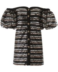 Philosophy Sequins Mini Dress - Black