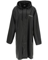 """Vetements """"fashion Is My Profession"""" Trench Coat - Black"""