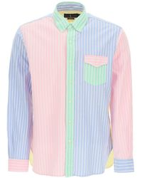 Polo Ralph Lauren Multicolour Striped Oxford Shirt S Cotton