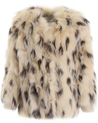 Miu Miu Fox Fur Jacket - Multicolour