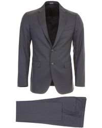 Lanvin Two-piece Suit 48 Wool - Blue