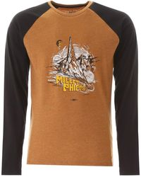 Phipps T-SHIRT CON STAMPA - Marrone