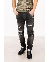 Balmain Biker Jeans - Black