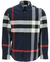 Burberry Maxi Check Shirt - Multicolour