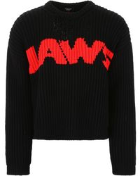 CALVIN KLEIN 205W39NYC Jaws Pullover - Black