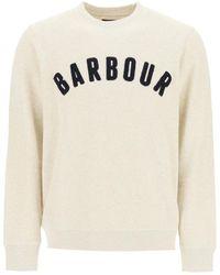 Barbour Prep Logo Sweatshirt - Natural