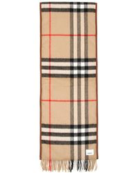 Burberry SCIARPA QUILTED GIANT CHECK - Neutro
