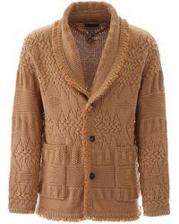 Alanui Tricot Cardigan S Cotton - Multicolor