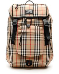 Burberry Check Rocky Backpack - Multicolour