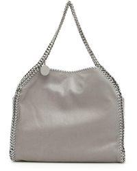 Stella McCartney Falabella Silver Chain Tote - Gray